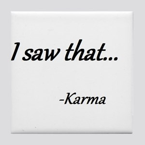 Karma Tile Coaster