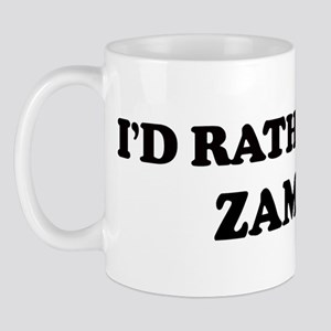 Rather be in ZAMBIA Mug