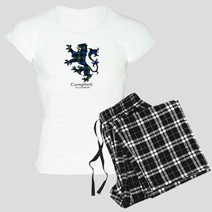 Lion - Campbell of Lochawe Women's Light Pajamas