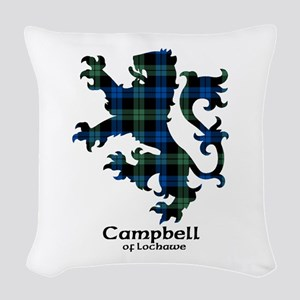 Lion - Campbell of Lochawe Woven Throw Pillow