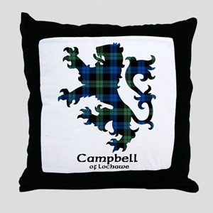 Lion - Campbell of Lochawe Throw Pillow