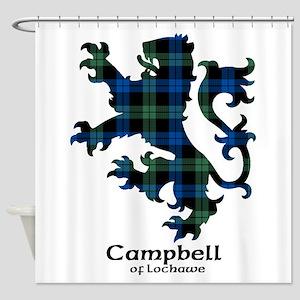 Lion - Campbell of Lochawe Shower Curtain