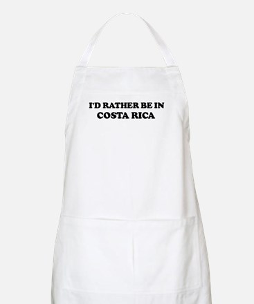 Rather be in COSTA RICA BBQ Apron