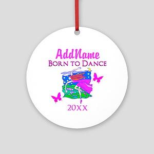 LOVELY DANCER Ornament (Round)
