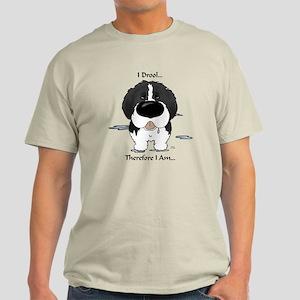 Newfie (Landseer) - I Drool Light T-Shirt