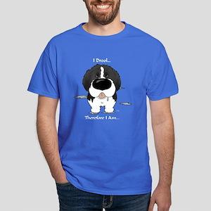 Newfie (Landseer) - I Drool Dark T-Shirt