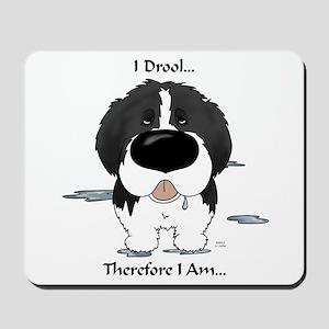 Newfie (Landseer) - I Drool Mousepad