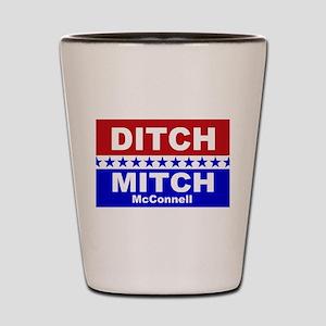 Ditch Mitch Shot Glass