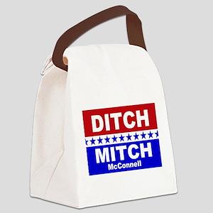 Ditch Mitch Canvas Lunch Bag