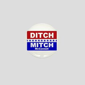 Ditch Mitch Mini Button