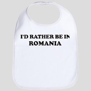 Rather be in ROMANIA Bib