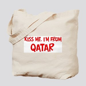 Kiss me Qatar Tote Bag