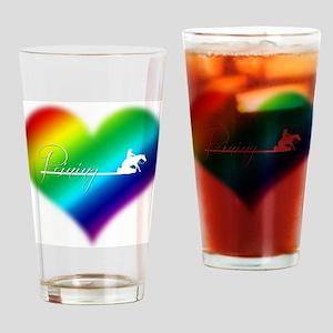 Rainbow reiner Drinking Glass