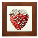 Berry Special Valentine Framed Tile