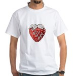 Berry Special Valentine White T-Shirt