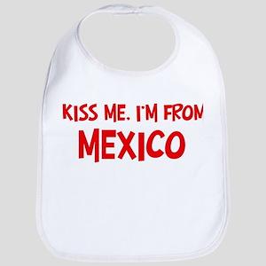 Kiss me Mexico Bib