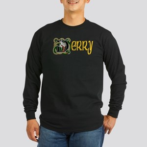 County Derry Long Sleeve Dark T-Shirt