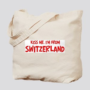 Kiss me Switzerland Tote Bag
