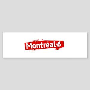 'Montreal' Bumper Sticker