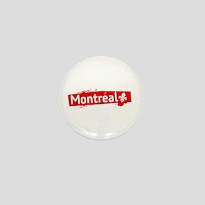 'Montreal' Mini Button