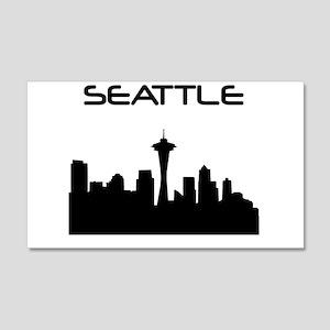 Seattle Skyline Wall Decal