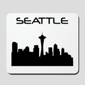 Seattle Skyline Mousepad