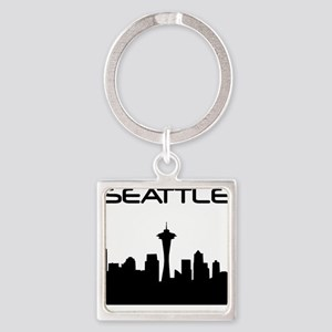 Seattle Skyline Keychains