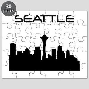 Seattle Skyline Puzzle
