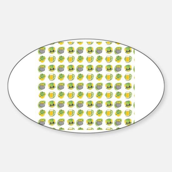 Cute Glass kettle Sticker (Oval)
