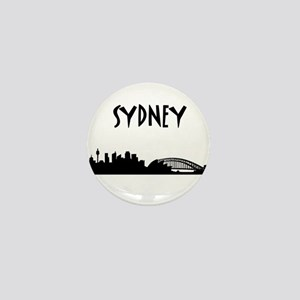 Sydney Skyline Mini Button