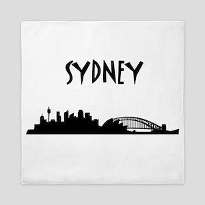 Sydney Skyline Queen Duvet