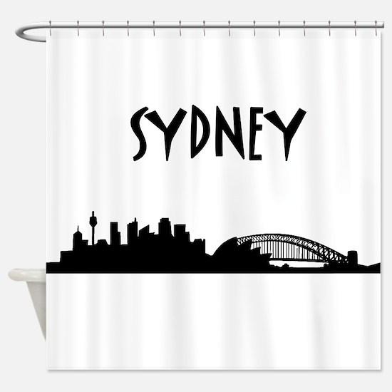 Sydney Skyline Shower Curtain