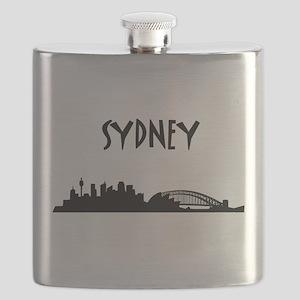 Sydney Skyline Flask