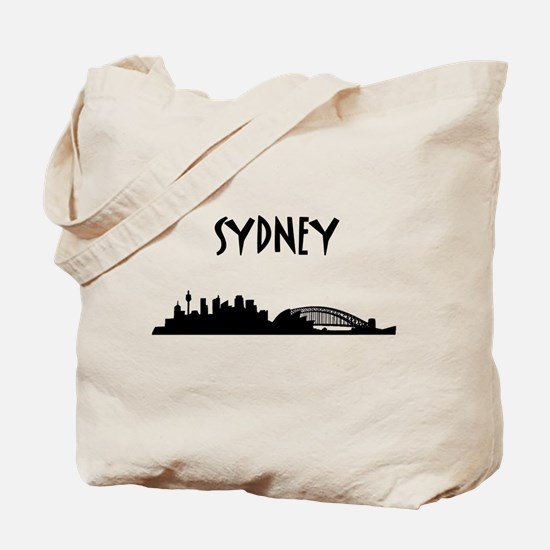 Sydney Skyline Tote Bag