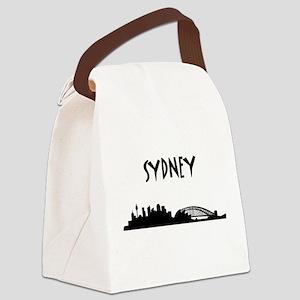 Sydney Skyline Canvas Lunch Bag