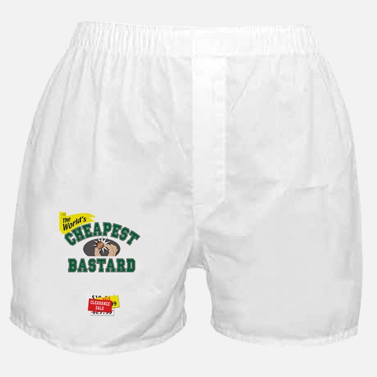 World's Cheapest Bastard Boxer Shorts