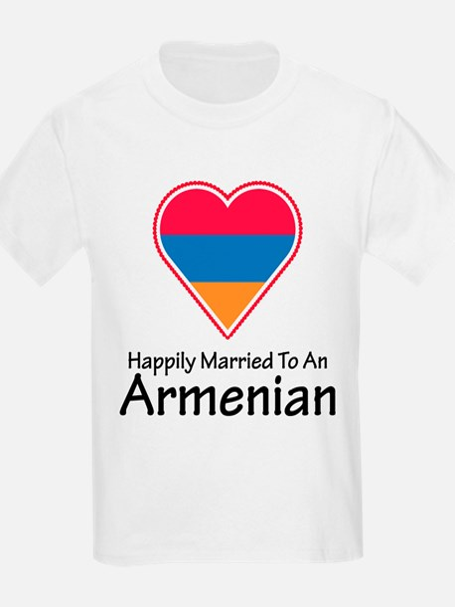 Happily Married Armenian Kids T-Shirt
