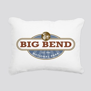 Big Bend National Park Rectangular Canvas Pillow