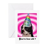 BIRTHDAY CUPCAKES  Greeting Cards (Pk of 10)