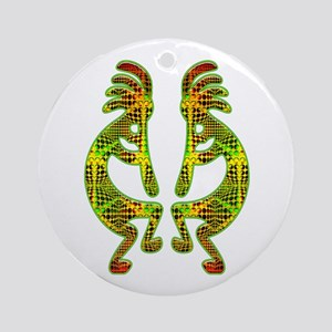 MODERN KOKOPELLI Ornament (Round)
