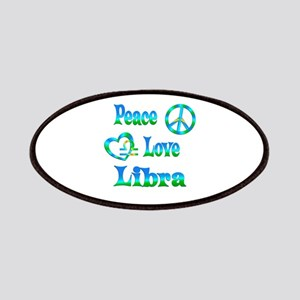 Peace Love Libra Patches