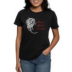 WAA Women Against Assholes Women's Dark T-Shirt