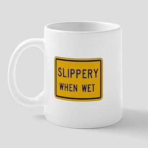 Slippery When Wet - USA Mug
