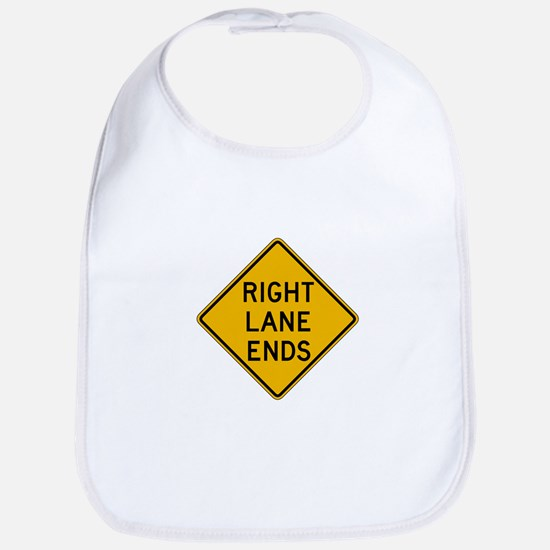 Right Lane Ends - USA Bib