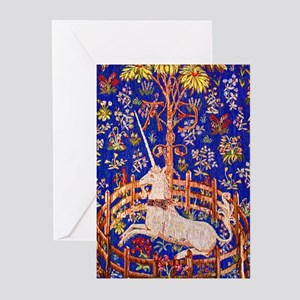 UNICORN IN CAPTIVITY Greeting Cards (Pk of 10)