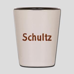 Schultz Fall Leaves Shot Glass