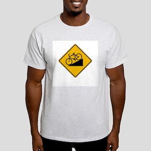 Bicycle Hill - USA Ash Grey T-Shirt