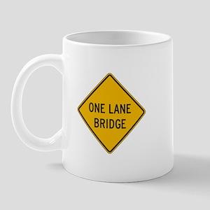One-Lane Bridge - USA Mug