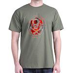 Smoke & Flames Skull Dark T-Shirt