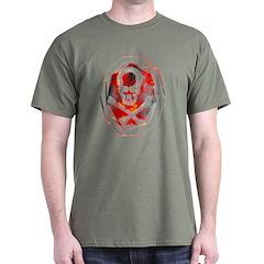 Smoke & Flames Skull T-Shirt